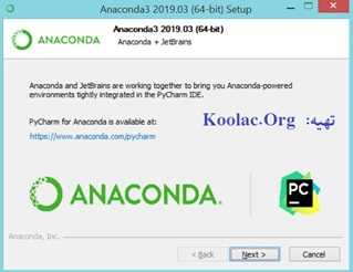 دانلود و آموزش نصب آناکوندا (Anaconda) برای پایتون